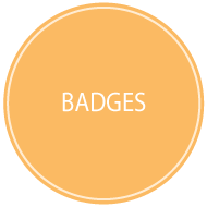 Polka Dot Badges For You